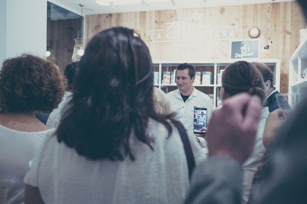 Kiko Moya chef en Inauguración tienda Frinsa Alicante
