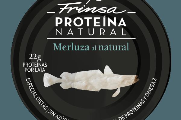 Conserva de merluza Proteína Natural de Frinsa