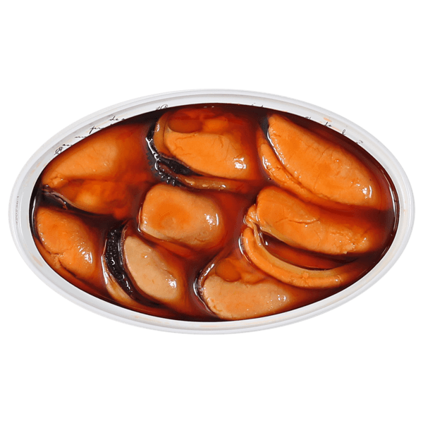 Contenido lata de mejillones en escabeche Frinsa