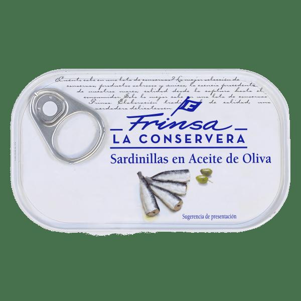 Conserva de sardinillas en aceite de oliva Frinsa