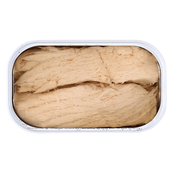 Contenido lata ventresca gourmet de bonito Frinsa