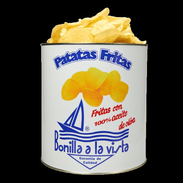 Lata de patatas fritas Bonilla