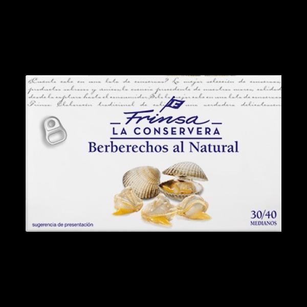 Berberechos medianos a granel de Frinsa
