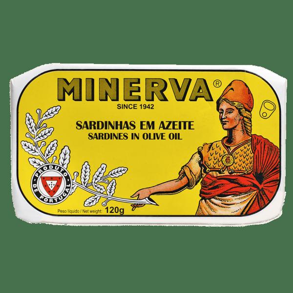 Conserva de sardinas portuguesas Minerva en aceite