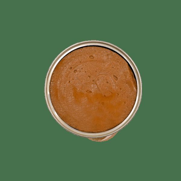 Lata abierta de paté de sardina Minerva